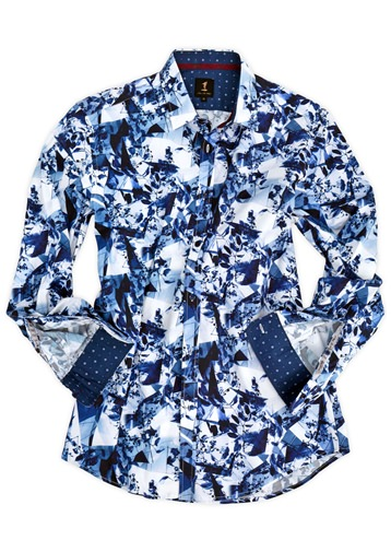 Kaleidoscope Print Shirt- currently unavailable