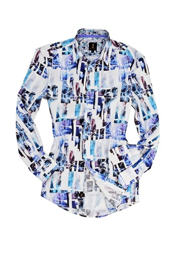 Stark Printed Shirt- currently unavailable